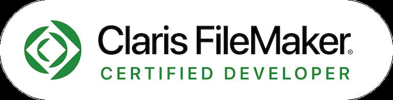 Claris FileMaker Certified Developer