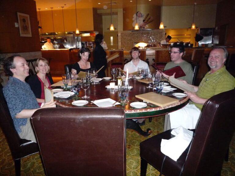 Dinner at FileMaker DevCon 2008